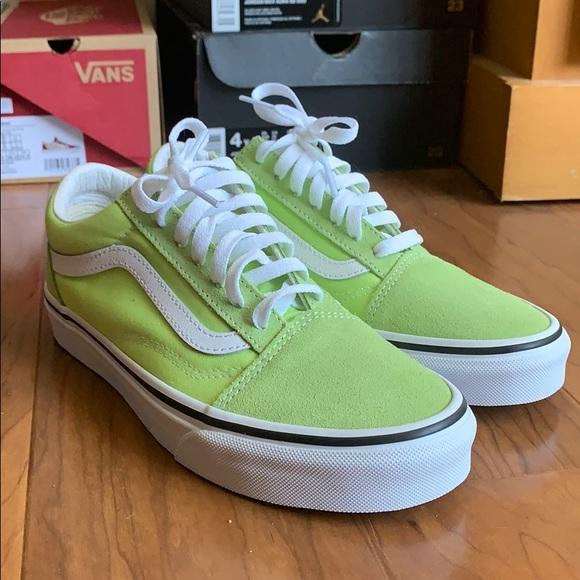 Vans Shoes   Vans Old Skool Neon Green